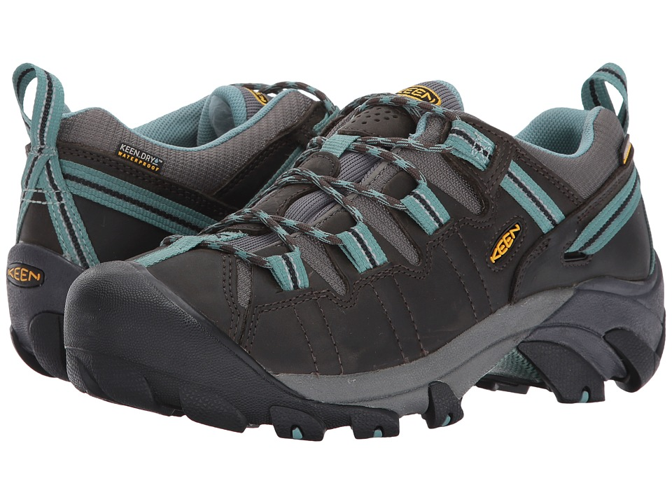 Keen - Targhee II (Black Olive/Mineral Blue) Womens Hiking Boots