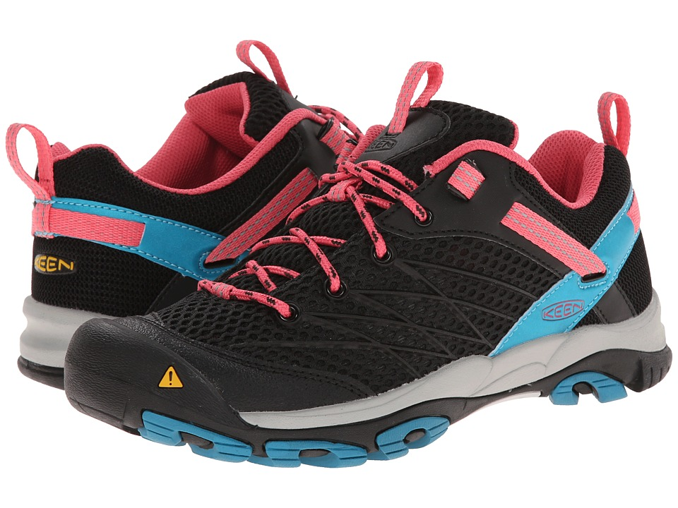 Keen - Marshall (Black/Honeysuckle) Women's Hiking Boots