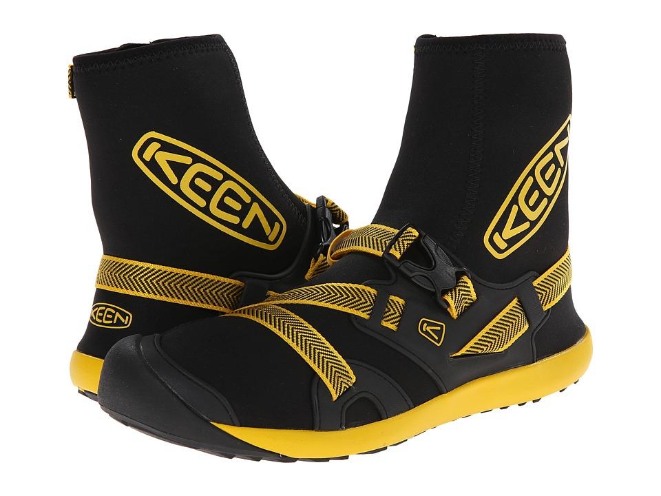 Keen - Gorgeous (Black/Yellow) Men's Waterproof Boots