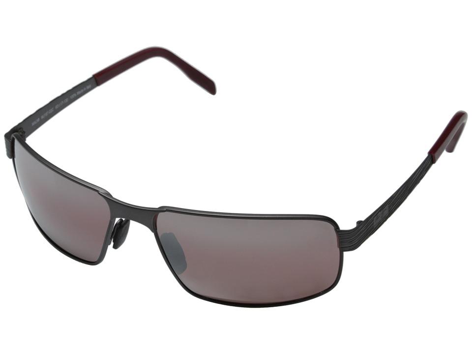 Maui Jim - Castaway (Dark Gunmetal/Maui Rose) Fashion Sunglasses