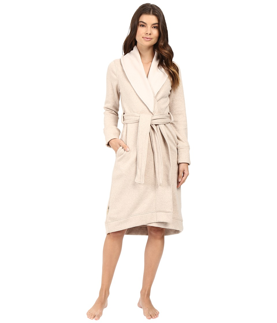 Ugg Duffield Robe (Oatmeal Heather) Women's Robe