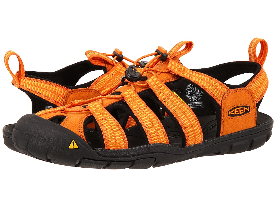 Keen - Clearwater CNX (Sunset/Marigold) Mens Shoes
