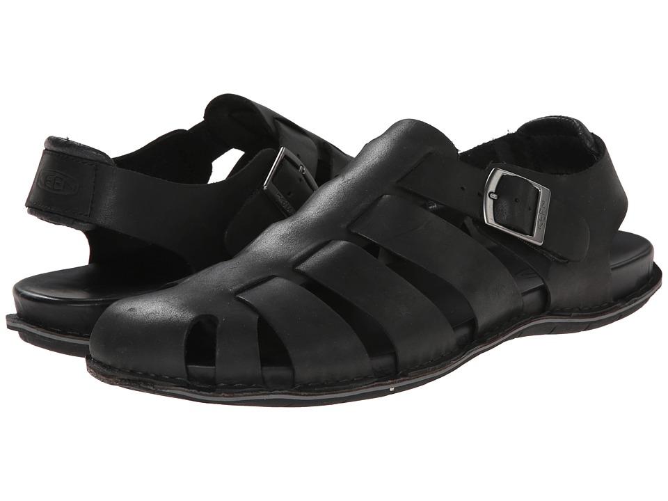Keen - Alman Fisherman (Black) Men's Shoes