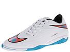 Nike Hypervenom Phelon IC (White/Total Crimson/Blue Lagoon)