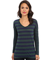 Splendid - Mix Stripe V-Neck Tunic