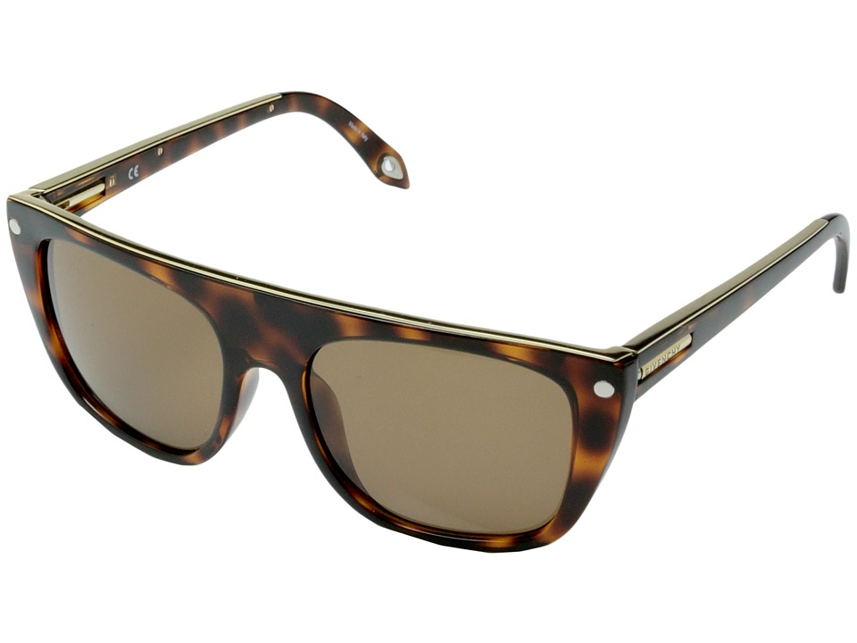 Givenchy SGV 883 Tortoise Gold/Brown Fashion Sunglasses