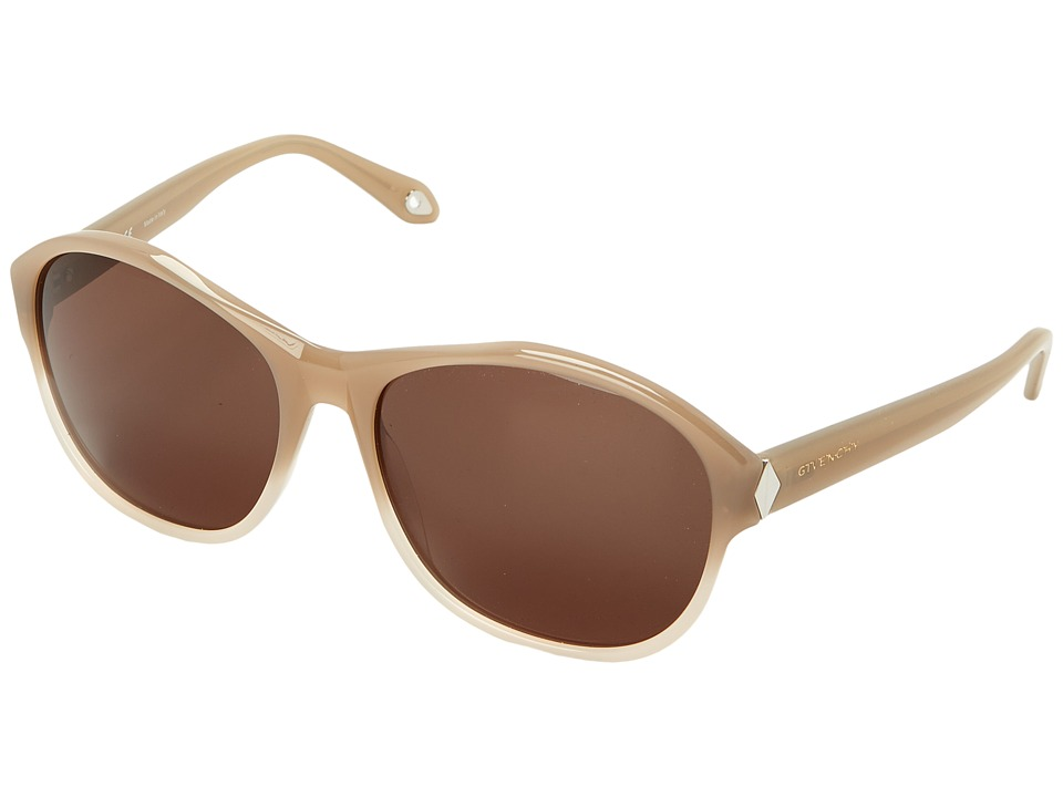 Givenchy SGV 872 Opal Ruthenium/Brown Fashion Sunglasses
