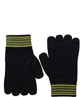 Versace Collection - Striped Cuff Gloves