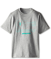 Patagonia Kids - Live Simply Guitar T-Shirt (Little Kids/Big Kids)