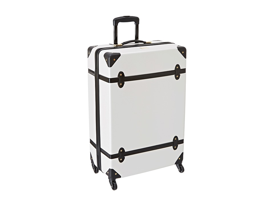 Diane von Furstenberg - Saluti 28 Hardside Spinner (White/Black) Luggage