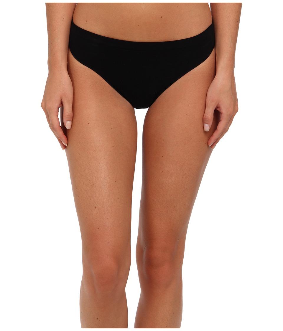 Commando Ballet Body Thong KT008 Black Womens Underwear