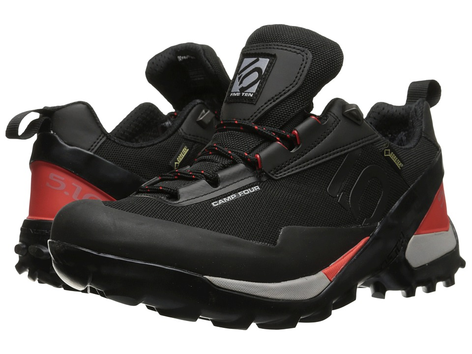 Five Ten Camp 4 GTX Black/Red Mens Shoes