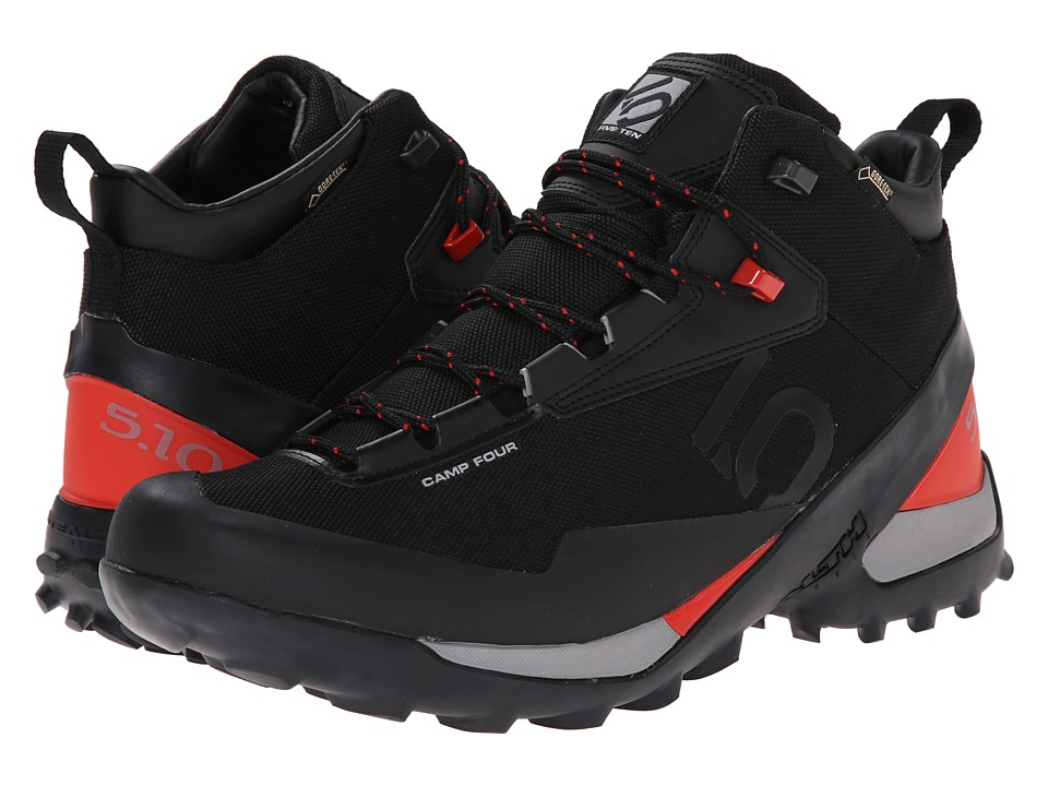 Five Ten Camp 4 Mid GTX Black/Red Mens Shoes