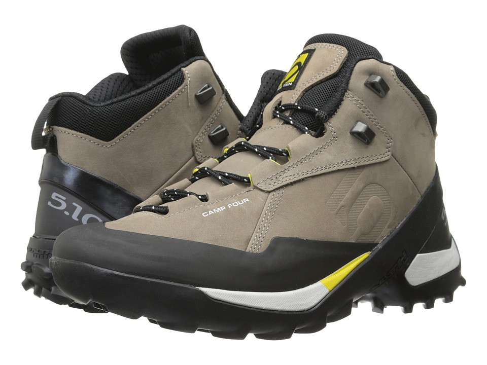 Five Ten Camp Four Mid Brown/Yellow Mens Shoes