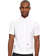 DSQUARED2 - Cotton Poplin Outside Shirt