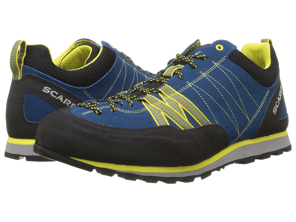 Scarpa Crux Hyper Blue/Yellow Mens Shoes