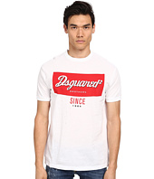 DSQUARED2 - New Chic Dan Fit Campbell's Tee