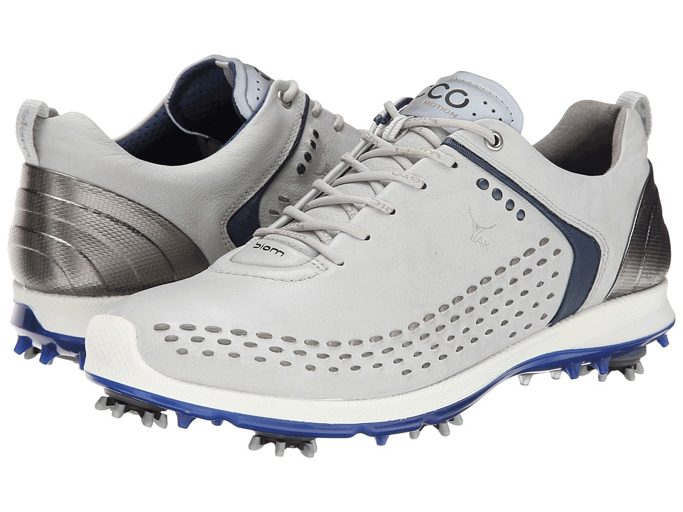 ECCO Golf BIOM G 2 Concrete/Royal Mens Golf Shoes