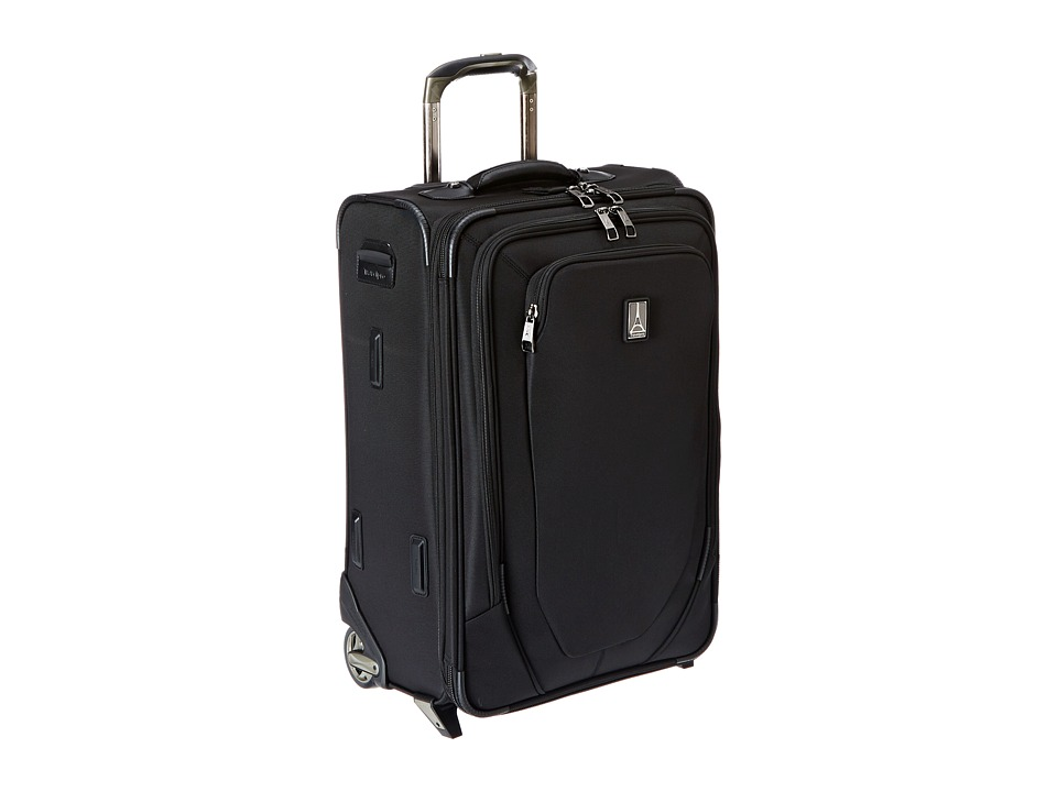 Travelpro Crew 10 22 Expandable Rollaboard Suiter Black Luggage