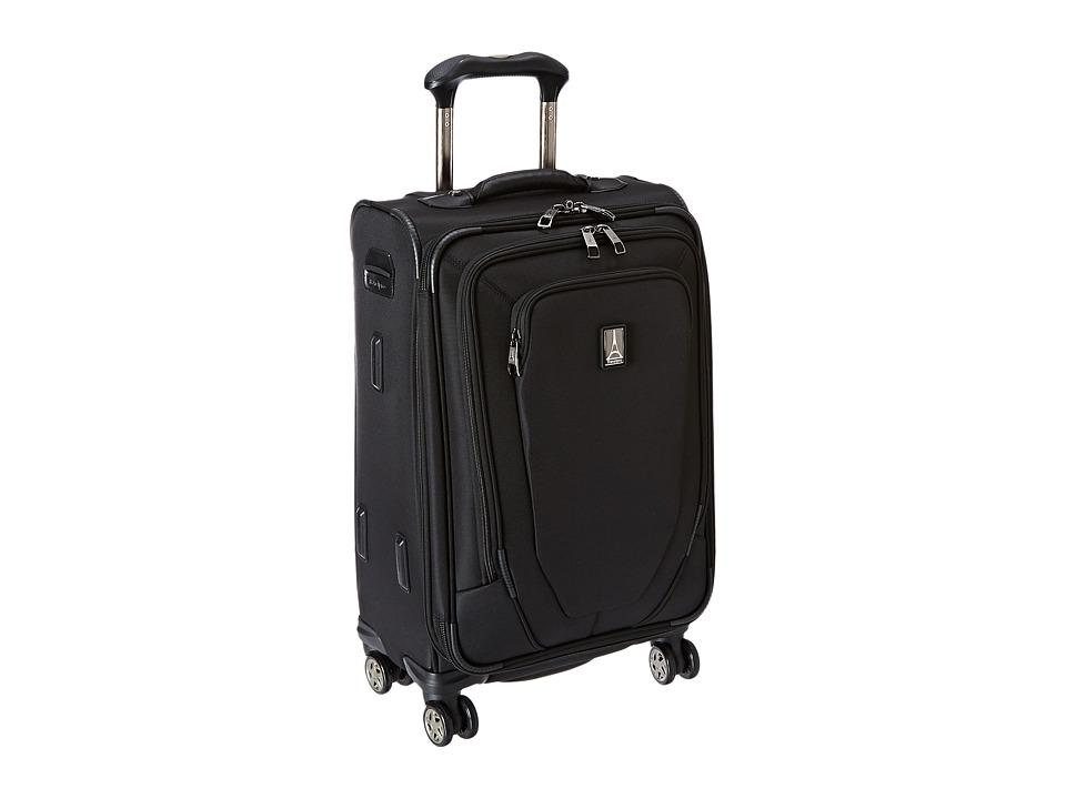 Travelpro Crew 10 21 Expandable Spinner Suiter Black Luggage