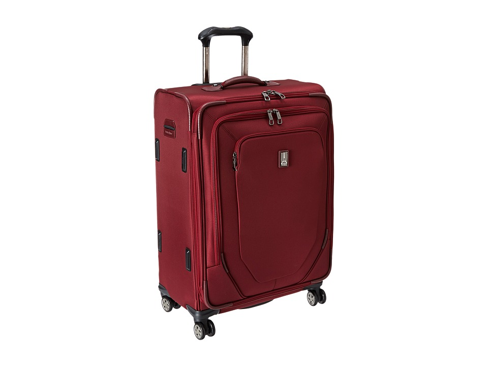 Travelpro - Crew 10 25 Expandable Spinner Suiter (Merlot) Luggage