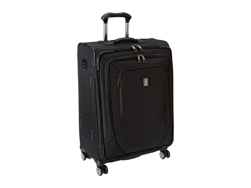 Travelpro Crew 10 25 Expandable Spinner Suiter Black Luggage