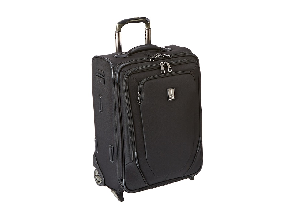Travelpro Crew 10 20 Expandable Business Plus Rollaboard Black Luggage