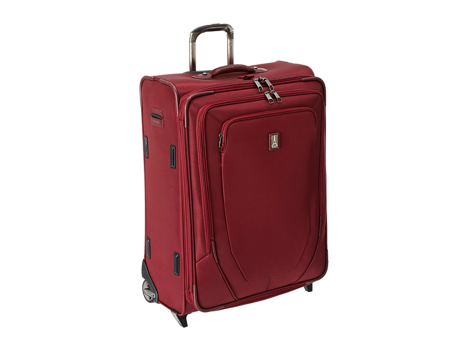 Travelpro Crew 10 26 Expandable Rollaboard Suiter Merlot Luggage