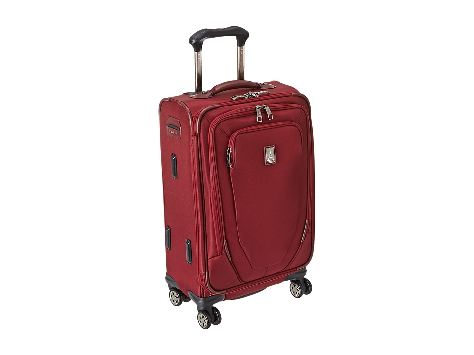 Travelpro Crew 10 21 Expandable Spinner Suiter Merlot Luggage