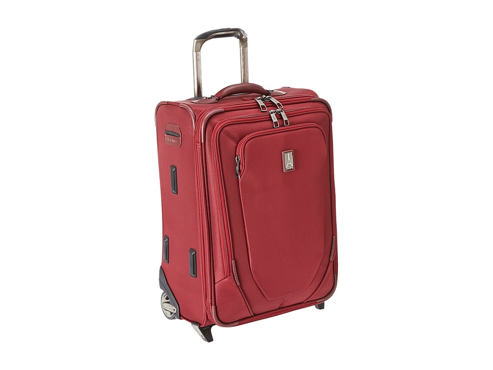 Travelpro Crew 10 20 Expandable Business Plus Rollaboard Merlot Luggage