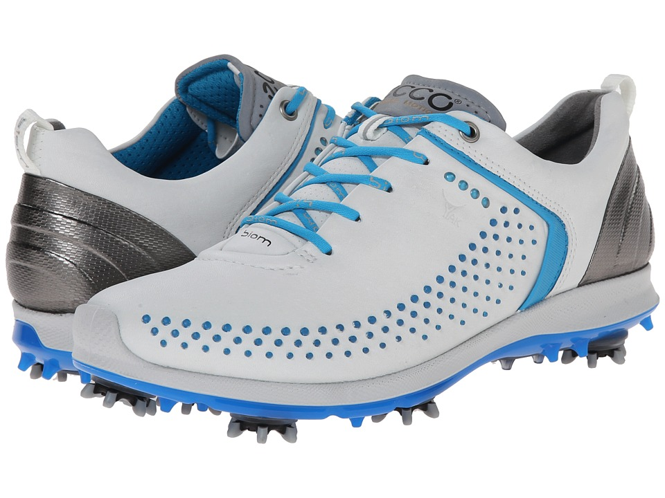 ECCO Golf BIOM G 2 White/Danube Womens Golf Shoes
