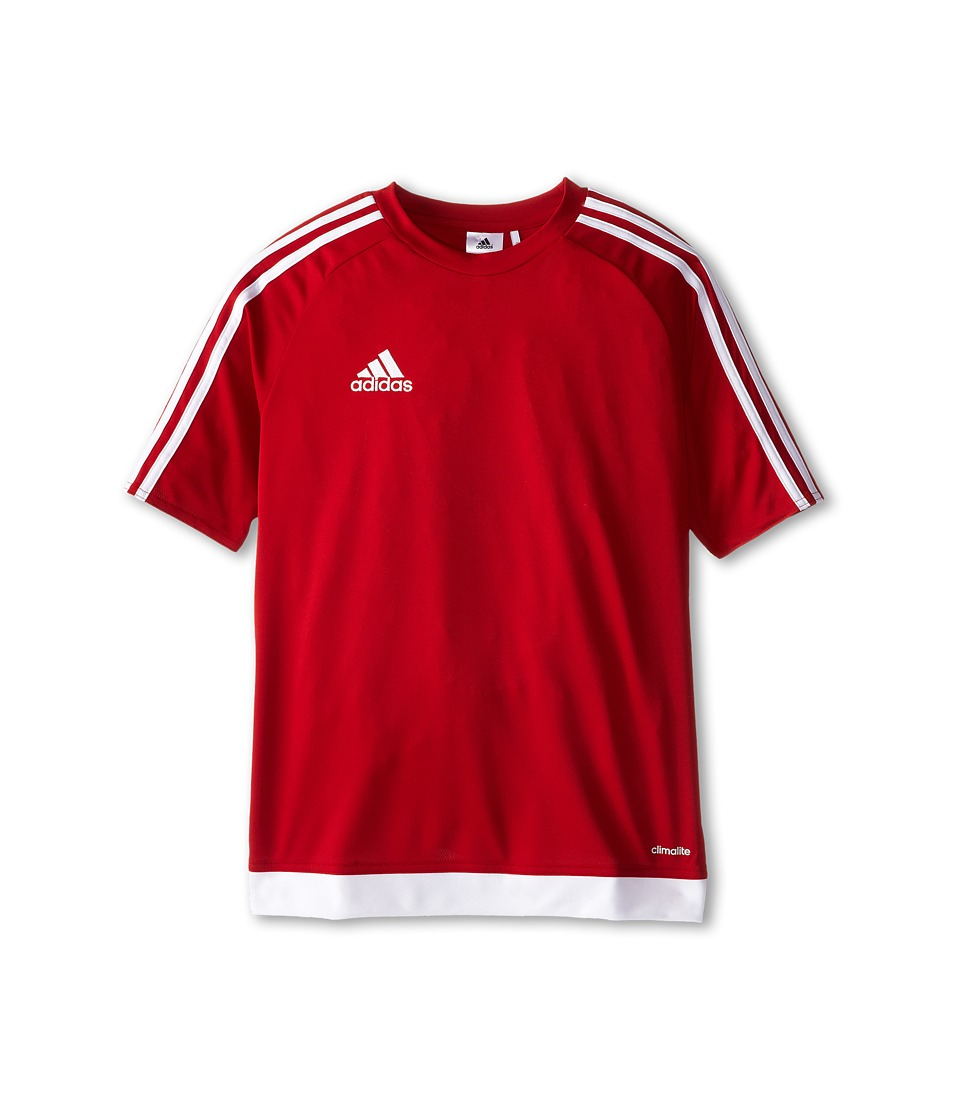 adidas Kids Estro 15 Jersey (Little Kids/Big Kids) (Power Red/White) Kid