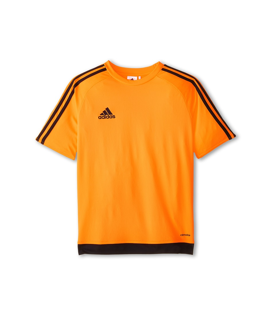 adidas Kids Estro 15 Jersey (Little Kids/Big Kids) (Solar Orange/Black) Kid