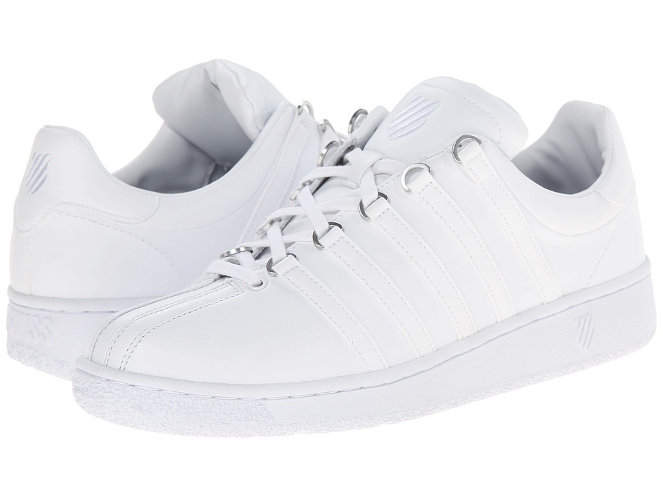 K-Swiss - Classic VN (White/White) Mens Shoes