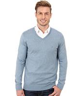 Nautica - Solid V-Neck Sweater