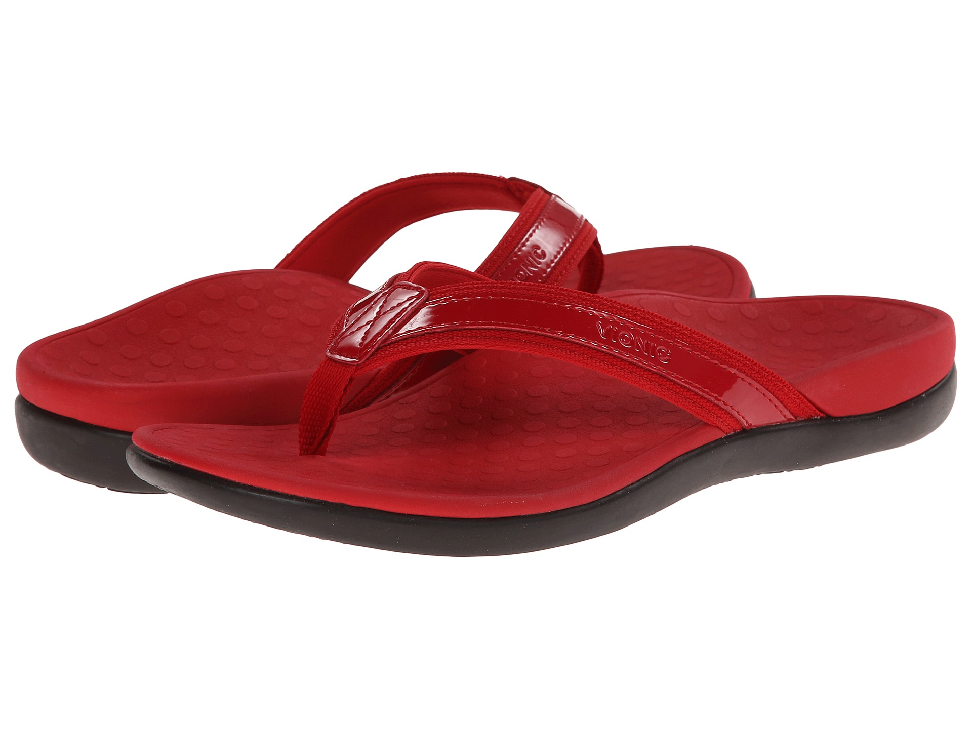 ce96b5897c60c7 Vionic with orthaheel technology tide ii red free jpg 1920x1440 Rutgers  slippers