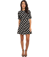 Brigitte Bailey - Nancy Fit and Flare Hearts Dress