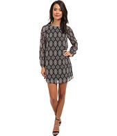 Brigitte Bailey - Medallion Flower Shift Dress
