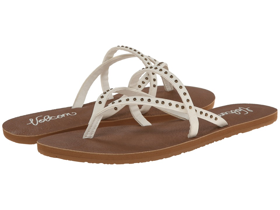 Volcom All Day Long 2 White Womens Sandals