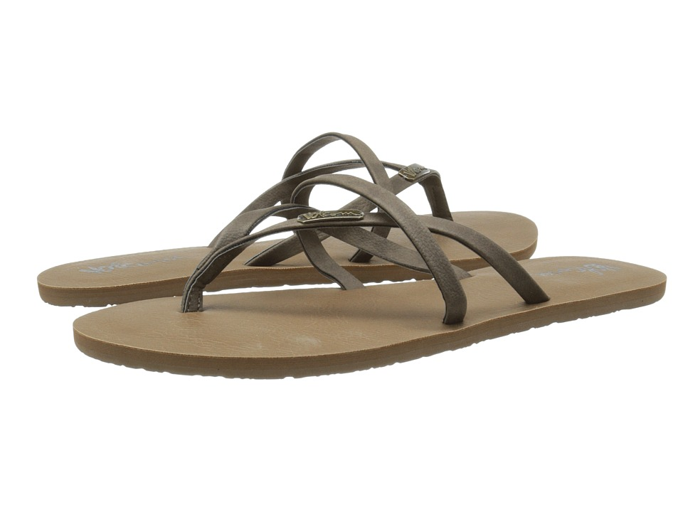 Volcom All Night Long 2 Brown Womens Sandals