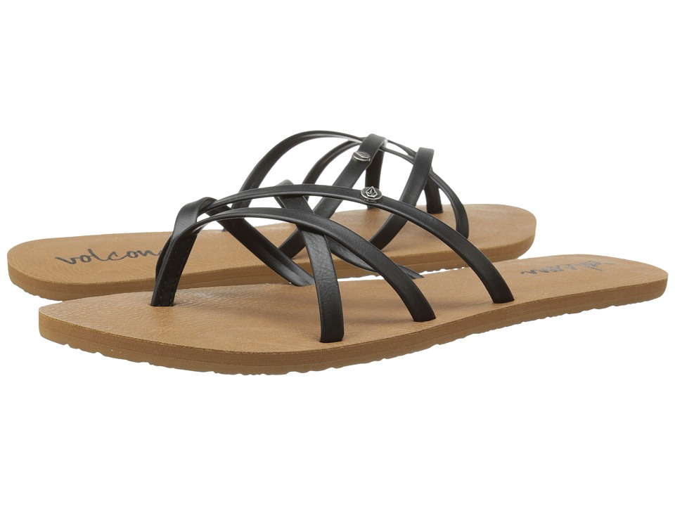 Volcom New School 2 (Black) Sandals