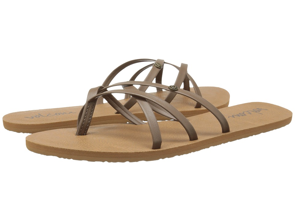 Volcom New School 2 (Brown) Sandals