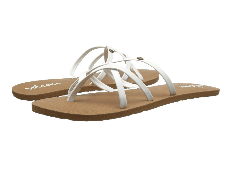 Volcom New School 2 (White) Sandals