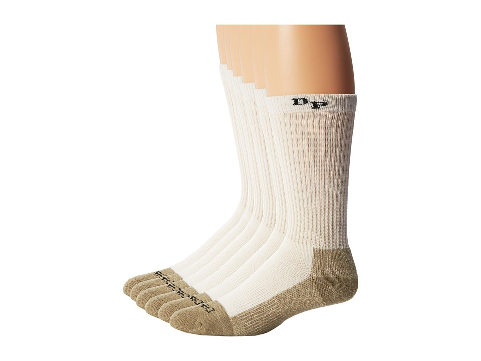 Dan Post - Dan Post Work Outdoor Socks Mid Calf Mediumweight Steel Toe 6 pack