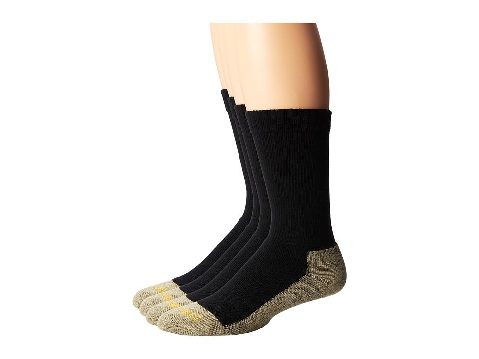 Dan Post - Dan Post Work Outdoor Socks Mid Calf Mediumweight Steel Toe 4 pack
