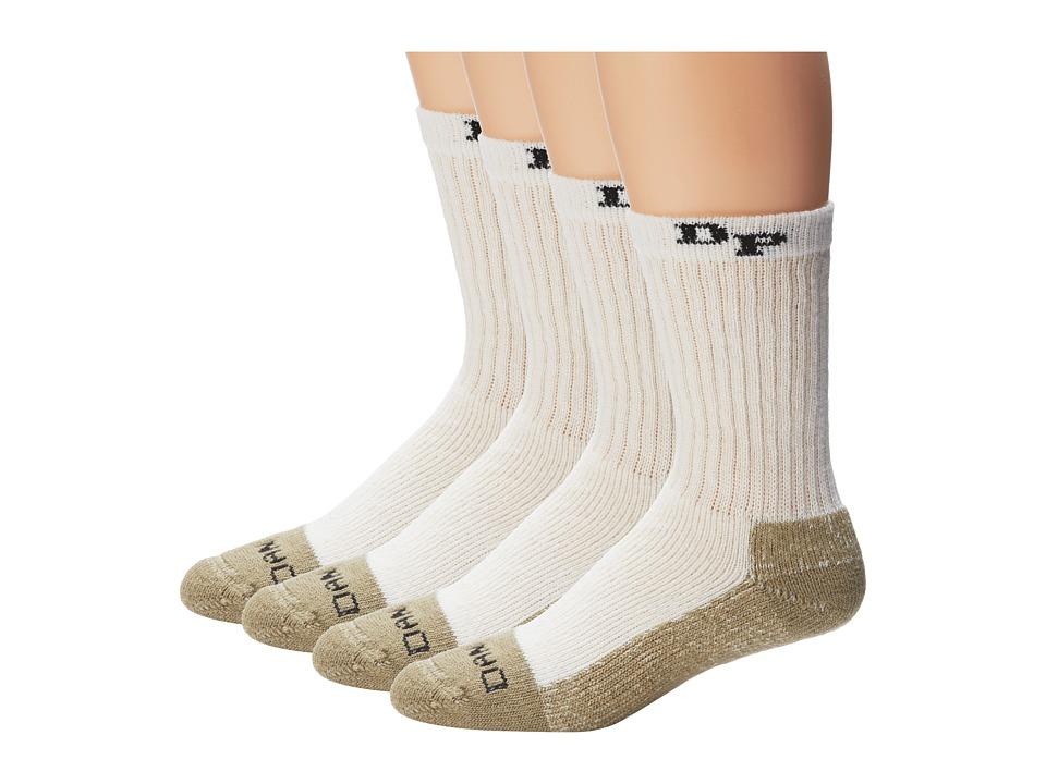 Dan Post - Dan Post Work Outdoor Socks Mid Calf Heavyweight Steel Toe 4 pack
