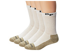 Dan Post Work & Outdoor Socks Mid Calf Heavyweight Steel Toe 4 pack