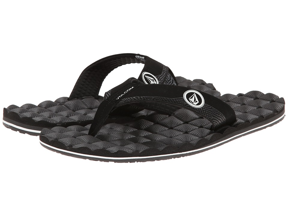 Volcom - Recliner (Black White) Men