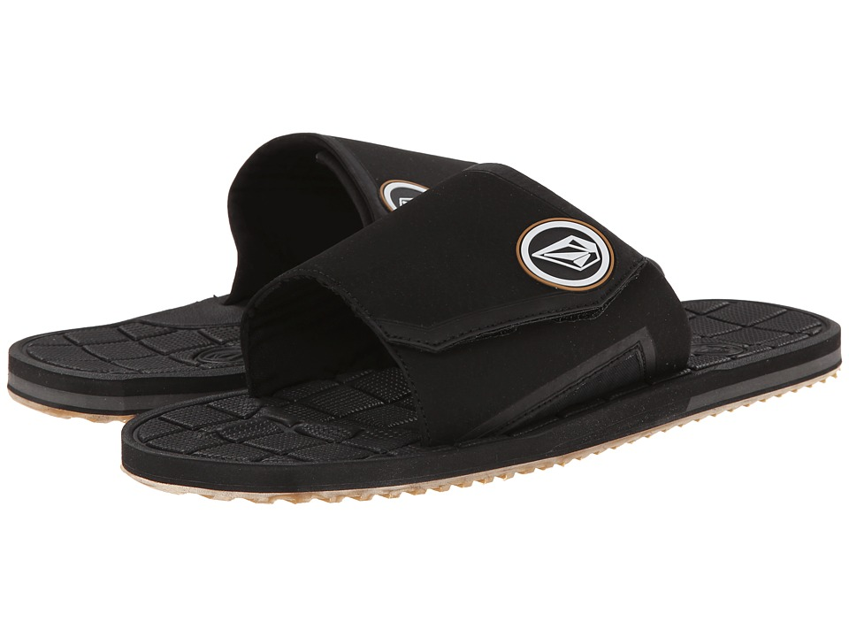 Volcom - Stryker Slide (Black) Men
