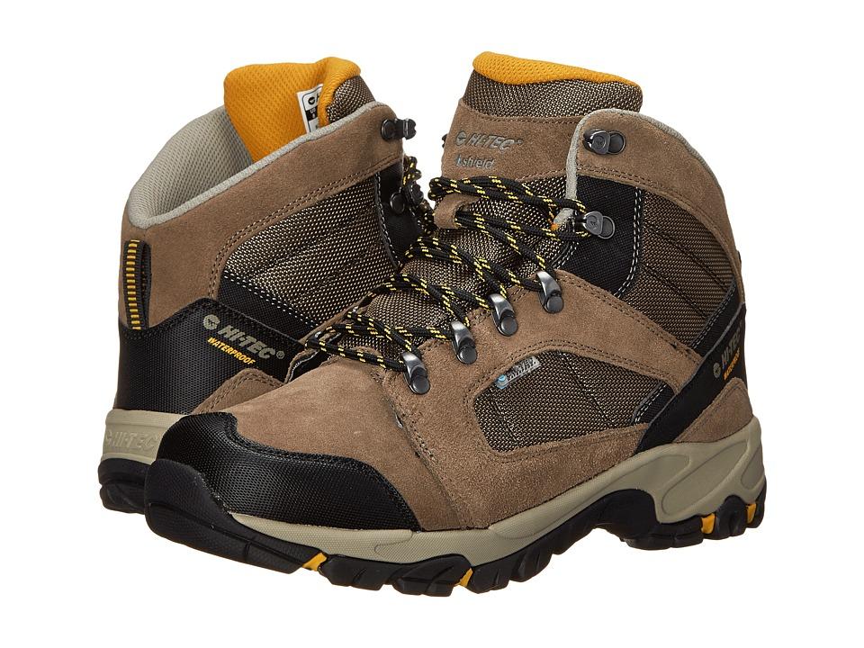 Hi-Tec - Borah Peak I-Shield Waterproof (Smokey Brown/Taupe/Gold) Men